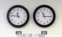 朝鮮、標準時を韓国と統一