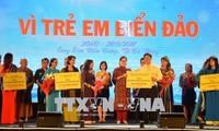 ティン国家副主席、「離島に住む子供たちのため」文芸公演