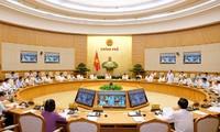政府の6月の月例会議が行われる