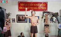 敵軍に投獄された革命戦士の博物館の訪れ