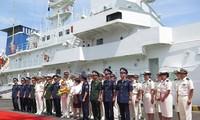 ダナンに海上保安庁の練習船「こじま」、寄港