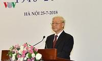 チョン書記長、ベトナム文芸連合設立70年記念式典へ