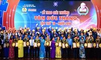 HCM市で、「トン・ドク・タン賞」の授賞式