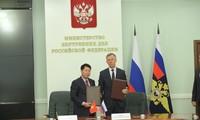 ベトナム公安省とロシア内務省が協力を強化