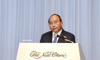 フック首相、日本・メコン首脳会議の記者会見で発表