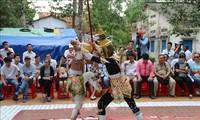 オクオムボック祭りを祝う活動