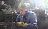 クアンニン省の石炭彫刻