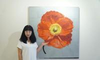 ハノイで日本人画家のマリス作品展