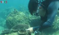 クーラオチャムのサンゴ礁の復活