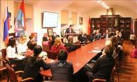 ロシアで、「北部国境線を守る戦い40周年」座談会