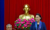 ガン国会議長、コントゥム省を訪問