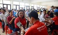 ダナンで、1500人が献血運動に参加