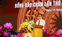 ダム副首相、チャム族の文化スポーツ観光祭りに出席