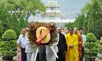 河江省举行超度英烈法会和烛光仪式