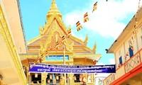 在越柬埔寨留学生举行泼水节庆祝活动
