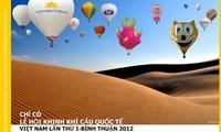 越南首次国际热气球节开幕