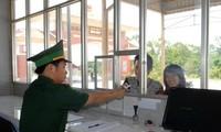 """在越南劳保—老挝登萨汶口岸推动实施""""一个窗口,一站式""""检查模式"""