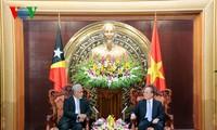 东帝汶总理圆满结束对越南的访问