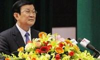 张晋创会见越南劝学协会代表