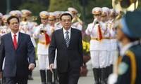 越中推动贸易、工业领域合作