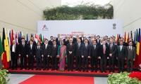 第十一届亚欧外长会议闭幕