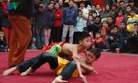 河内梅动村的摔跤节