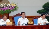 越南政府举行3月份工作例会
