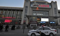 新疆火车站爆炸案发生后中国加强安保