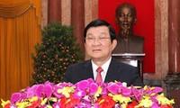 张晋创主席出席越南教师节纪念会