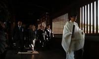 一百多名日本议员参拜靖国神社