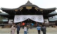 日本内阁阁僚参拜靖国神社