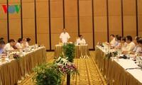 越共中央宣教部部长丁世兄与广宁省省委常务委员会举行座谈