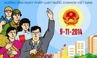 越南司法部举行2014年越南法律日响应活动
