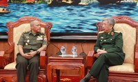 越南与印尼加强国防合作