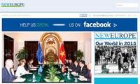 """比利时新欧洲(New Europe) 网站:""""越南2015——东南亚地区和平、稳定和建设共同体的积极伙伴"""""""