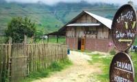 左万乡开展的家庭寄宿旅游