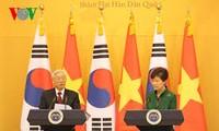 2014年是越韩关系取得成功的一年