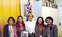 越南妇联主席阮氏清和访问澳大利亚