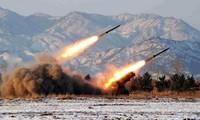 朝鲜发射4枚短程导弹