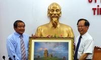 中国广西壮族自治区代表团对越南平定省进行工作访问