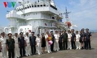 日本海岸警卫队船只访问越南岘港市