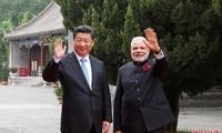 中国国家主席习近平会见印度总理莫迪