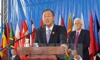 越南在实现千年发展目标中取得许多进步