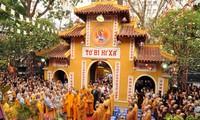 越南佛教僧众信徒与建设和保卫国家事业同行