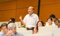 越南十三届国会九次会议向《刑事诉讼法修正案(草案)》提供意见