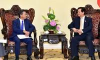 越南政府总理阮晋勇会见日本驻越大使