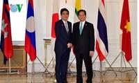 阮晋勇总理出席第七届湄公河流域国家与日本领导人会议