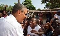 美国总统奥巴马正式访问肯尼亚