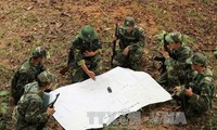 越南和中国在红河界河举行联合反恐演练