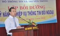 与越南驻外代表机构配合开展对外信息工作